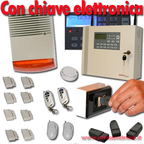 ANTIFURTO ALLARME CASA GSM SENZA FILI CON CHIAVE ELETTRONICA E SIRENA ACCIAIO  eBay