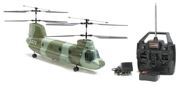 Elicottero Trasporto : Elicottero rc radiocomandato chinook s tandem da