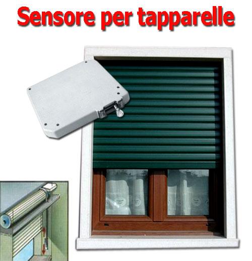 Sensore a cordicella conta impulsi meccanico per finestre tapparelle allarme ebay - Tapparelle per finestre ...