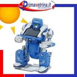 Robot trasformers 3 in 1 scorpione  carroarmato a carica solare