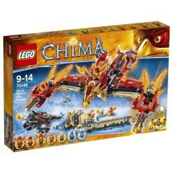 Lego chima 70146 tempio di fuoco della fenice volante