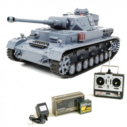 Carro armato Panzerkampfwagen IV rc radiocomandato scala 1:16