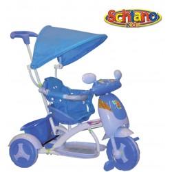 Triciclo bimbo hyppo blu con sedile di sicurezza