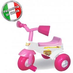 Triciclo a pedali per bimba bingo girl unogioghi