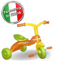 Triciclo a pedali arancio Tombolino unogiochi