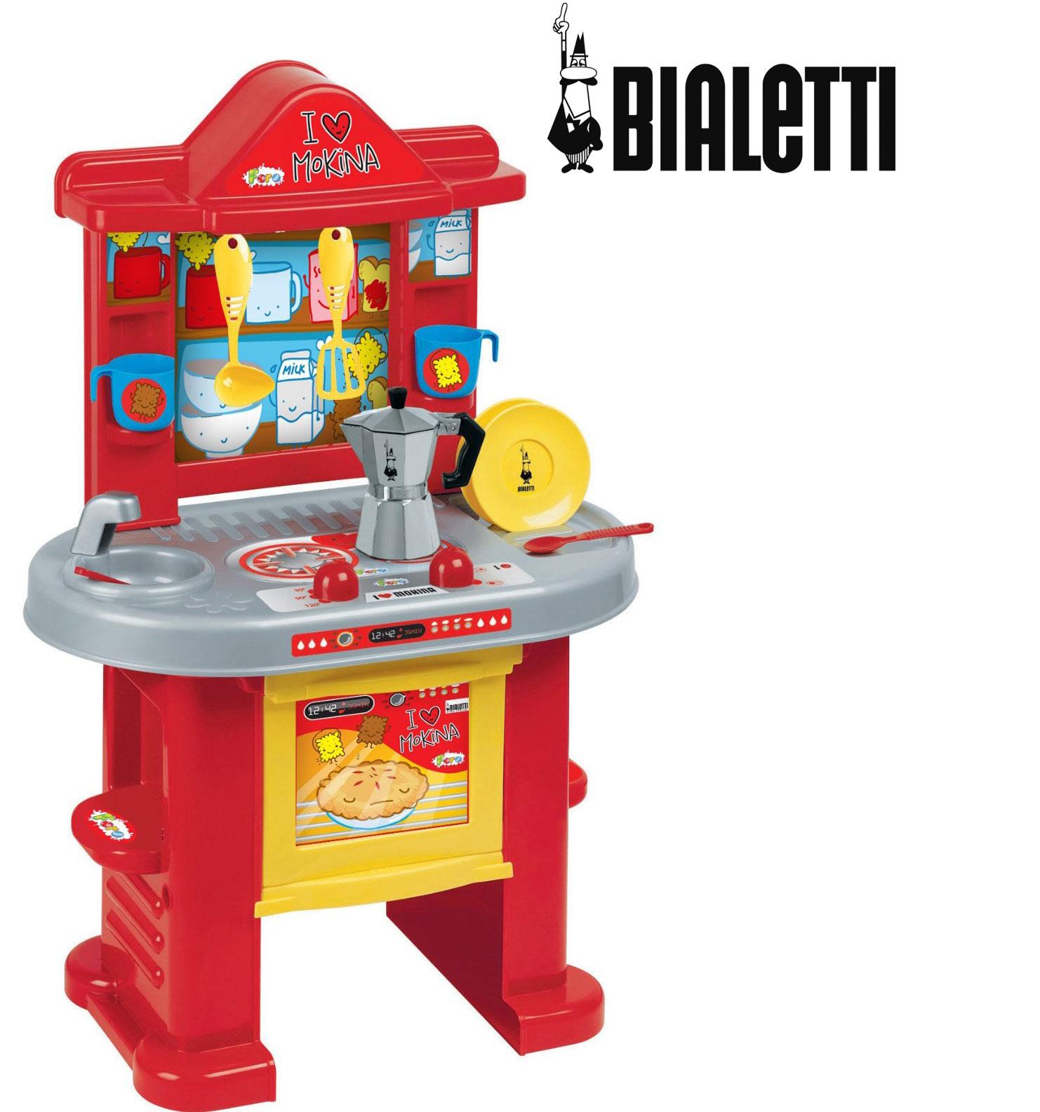 Cucina Bimbi Bimba Con Moka Bialetti Faro 1535 Primavetrina Multimedia Center S R L