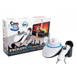 KARAOKE CANTA TU EVOLUTION PLUS CON WEBCAM MICROFONO + 8 BRANI