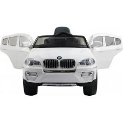 BMW X6 auto bimbi cavalcabile elettrica con radiocomando per controllo da parte di un adulto