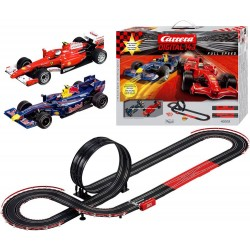 Pista Carrera digital 143 Ferrari e red bull