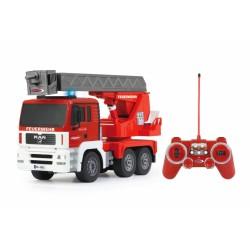 Camion scaletta dei pompieri 4x4 radiocomandato rc elettrico scala 1:20