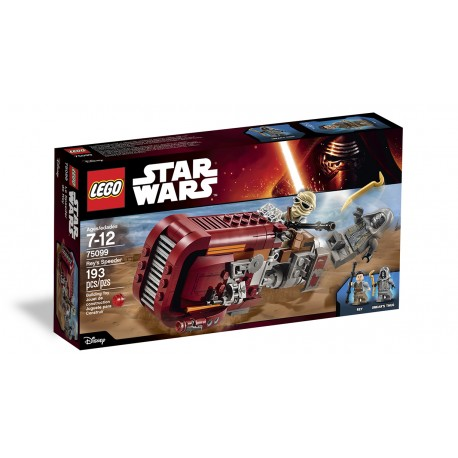 Lego Star Wars TM 75099  Rey's Speeder