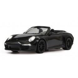 Porsche 911 Carrera S radiocomandata elettrica scala  1/12 nera costruita su licenza
