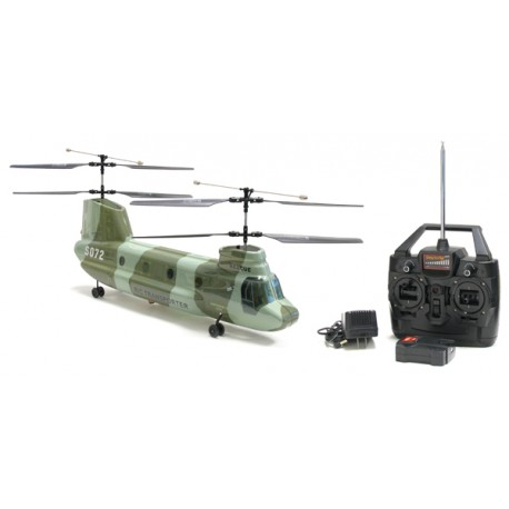 Elicottero Chinook S072 RC - Tandem Radiocomandato lipo