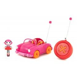Auto radiocomandata rc elettrica mini Lalaloopsy con bambola