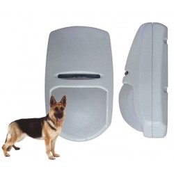 Sensore infrarossi pet immune ignora animali senza fili wireless per allarme casa