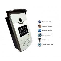 Video citofono wireless senza fili wi-fi con chiamata su APP Iphon tablet
