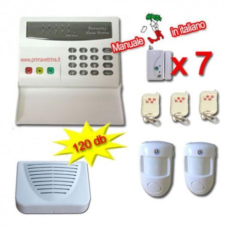 Allarme allarmi casa senza fili wireless combinatore - Antifurti casa senza fili ...