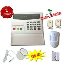 Antifurto senza fili allarme casa wireless con combinatore telefonico rete fissa