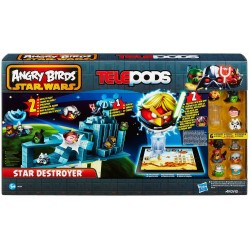 Star Wars Angry Birds telepods star destroyer interattivo puoi scaricare l'app gratuita e interagire con il gioco