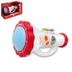 Baby tromba con effetti luminosi e sonori