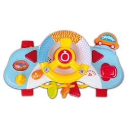 Cruscotto con volante musicale bontempi da attaccare nella culla o sul passeggino