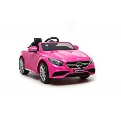 Auto elettrica per bimbe bambine Mercedes Sl 63 AMG 12 volt rosa