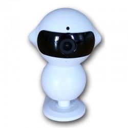 Telecamera wi-fi Robby + DVR registrazione su micro sd fino a 64gb