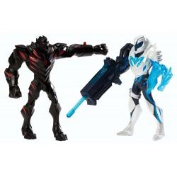 Max Steel Ms Battle Packclaw Dredd vs Blaster Max