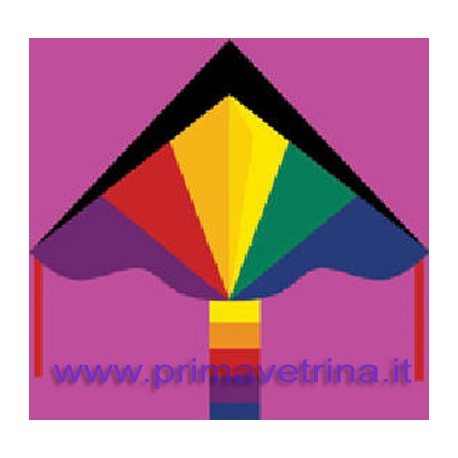 AQUILONE MONOFILO SIMPLE FLIER RAINBOW HQ 102145 DELTA 120x75 CM