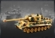 CARRO ARMATO GERMAN TIGER MIMETICO RADIOCOMANDATO RC SCALA 1/28